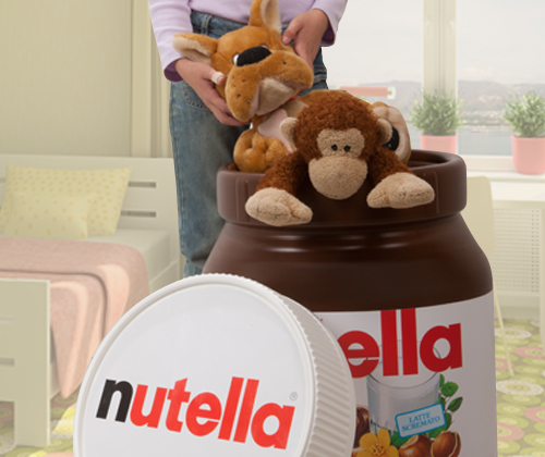 portatutto nutella Regalissimi 2013 Kinder