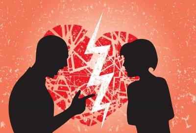 """""""Couple In Love Having Break Up"""" by smarnad FDP"""