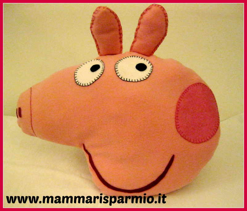 cuscino peppa