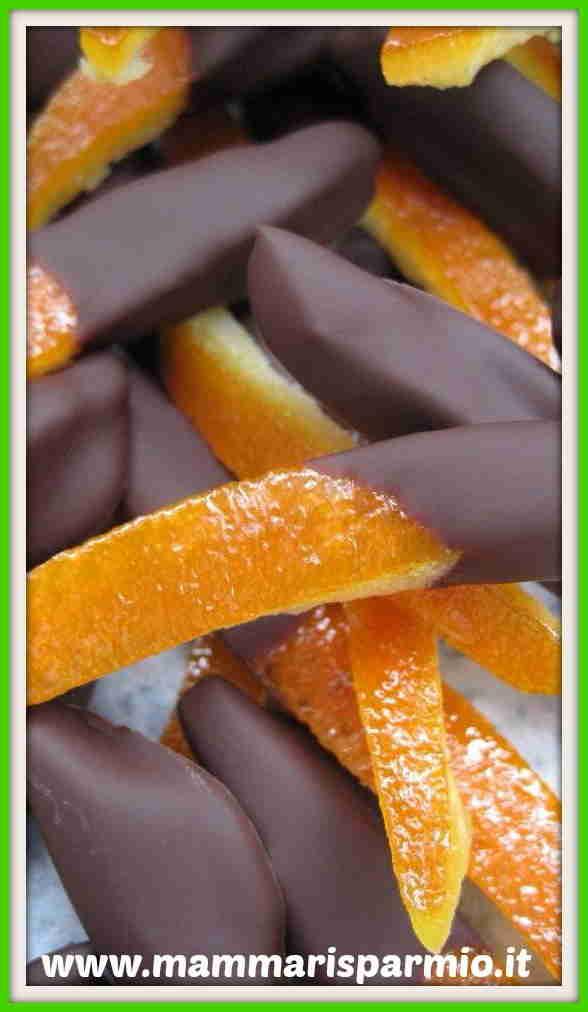 scorzette arancia cioccolato