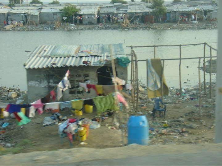 favela colombiana amianto