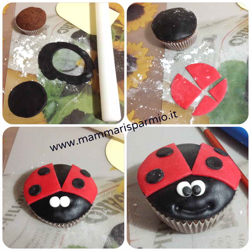 cocinella cupcake