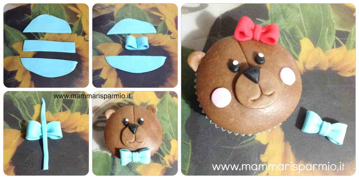 ricetta orsetto cupcake animale