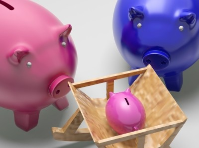"""Piggy Family Shows Planning Protection And Savings"" by Stuart Miles"