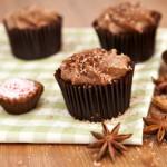muffin al cioccolato e nutella