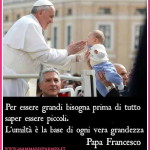 Papa Francesco e bambini