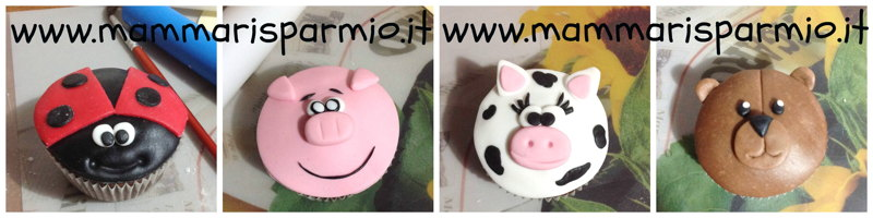 cupcakes animaletti ricetta tutorial