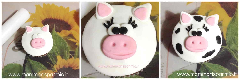 ricetta mucca cupcakes