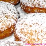 frittelle carnevale cioccolato o nutella