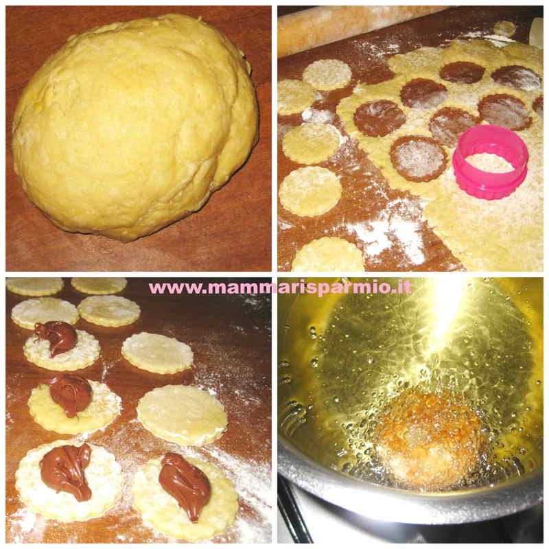 ravioli cioccolato frittelle carnevale
