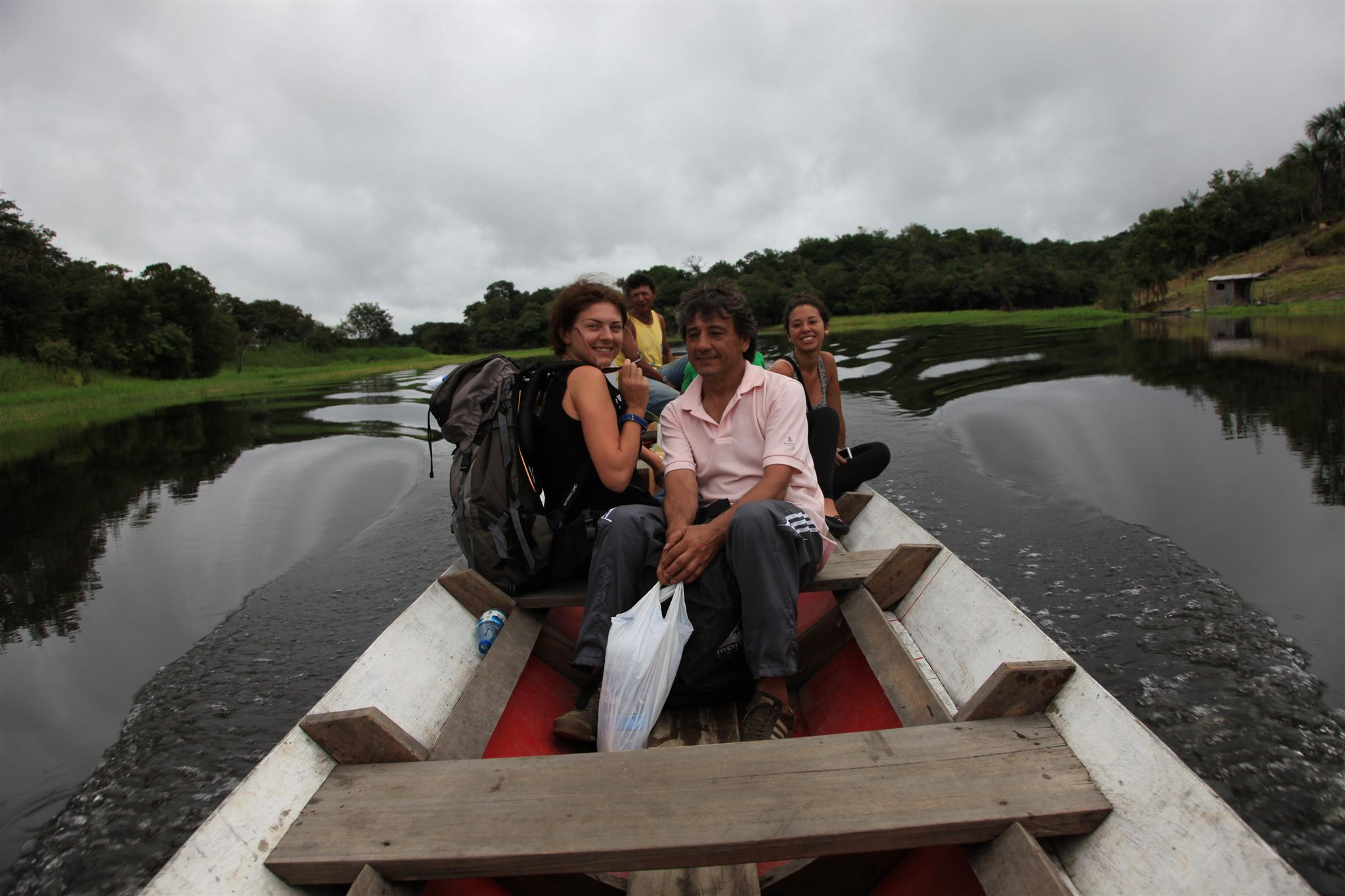 Verso il cuore dell'Amazzonia brasiliana, col mio inseparabile zaino