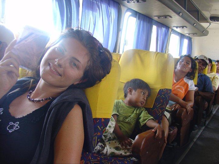 In Perù su un autobus locale