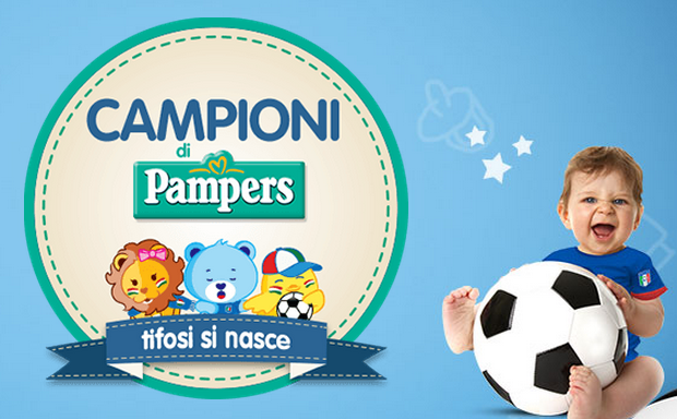 calcio pampers