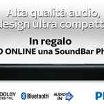 sound bar philpis in regalo con sky