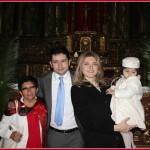 Mamma, figlio e nipotina riuniti in occasione del battesimo di Babyrisparmio, dopo un anno esatto!
