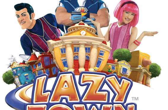 lazy town cartoonito