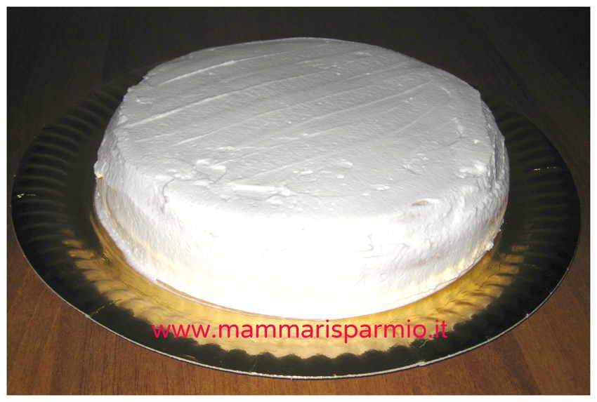 torta panna e fragola farcitura tutorial