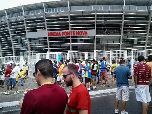 Arena Fonte Nova, lo stadio di Salvador
