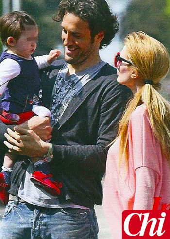 Luca Toni, oggi felice con la piccola Bianca