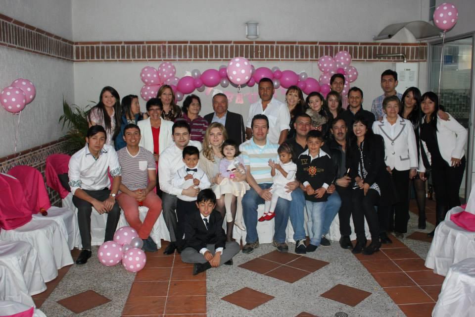 Il giorno del battesimo con la famiglia al gran completo