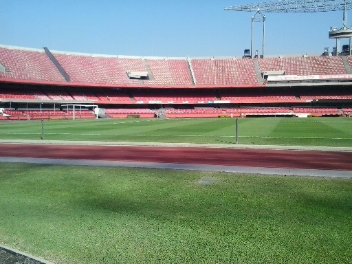 Lo Stadio Morumbi di San Paolo