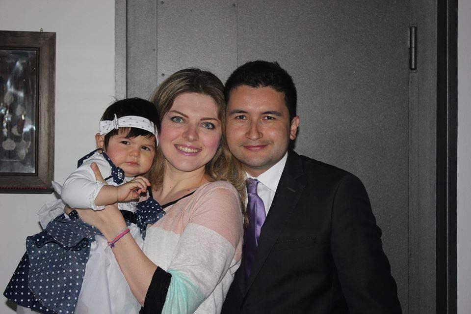 La mia famiglia: un uomo che amo e una bellissima bimba