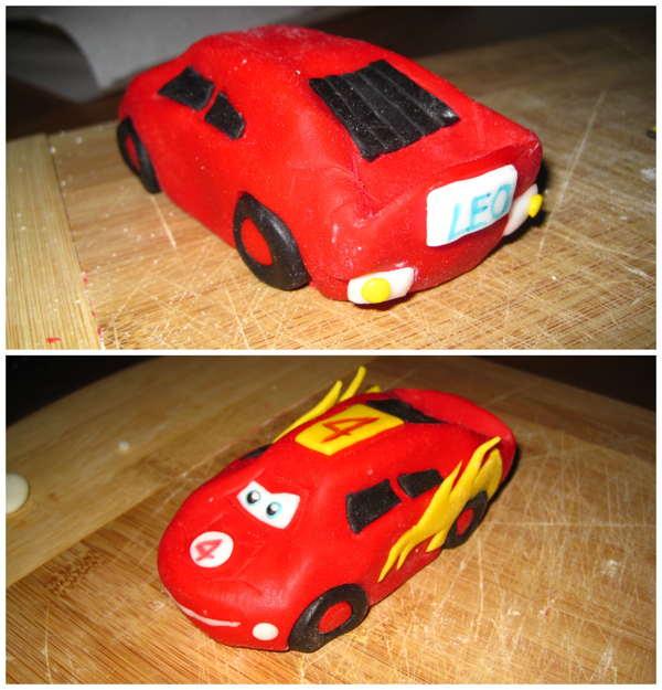 cars macchina rossa disney