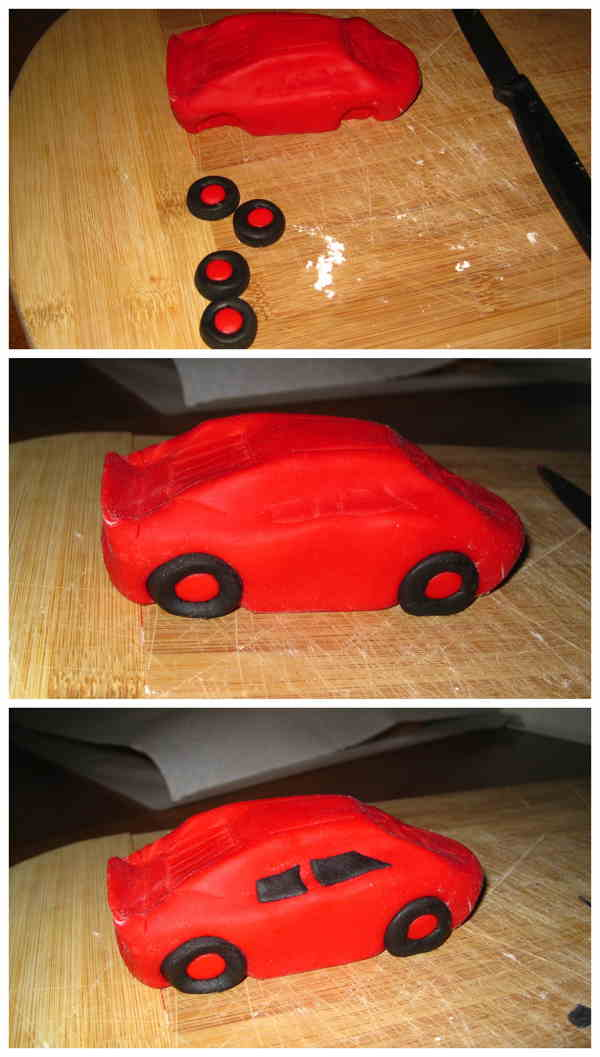 cars tutorial pasra da zucchero 4