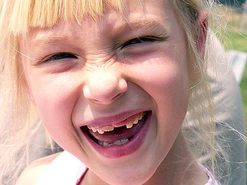 sorriso bambina