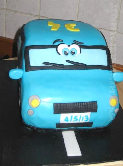 torta macchina cars