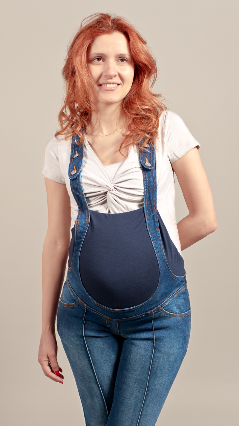 Preferenza Abiti premaman, jeans, salopette per gravidanza low cost. Preleva  KG28