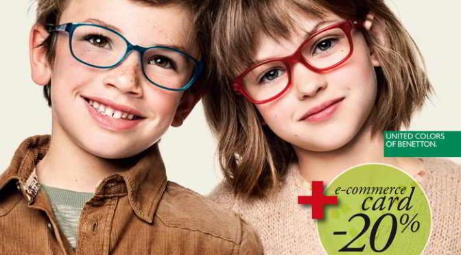 occhiali da bambino benetton