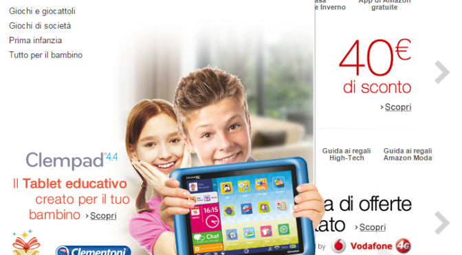 COMPERARE CON LO SCONTO SU AMAZON