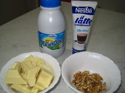 cioccolatini al cioccolato bianco