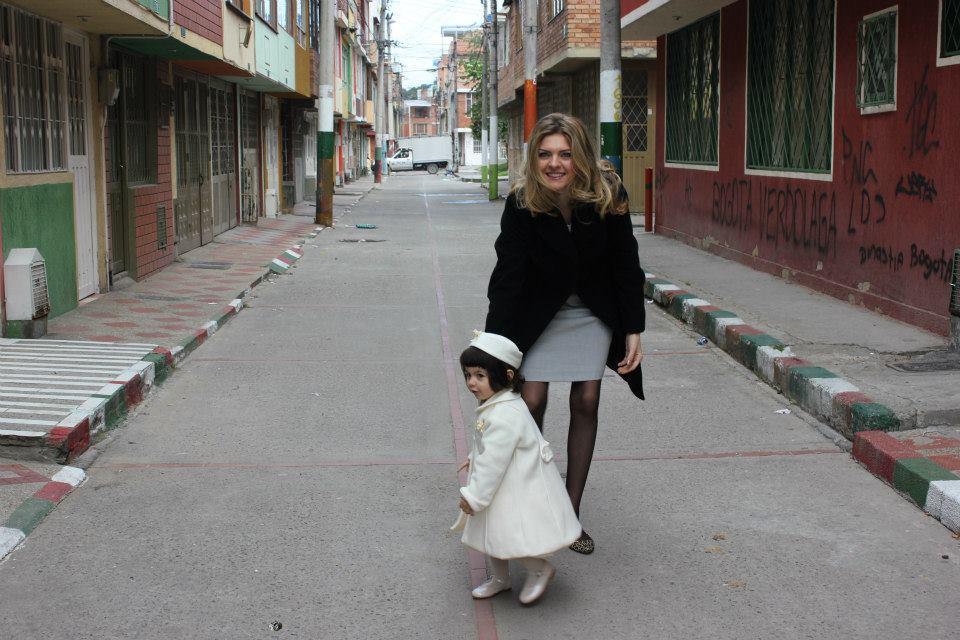 A Bogotà mentre ci dirigiamo verso la Chiesa Nuestra Senora de Las Aguas