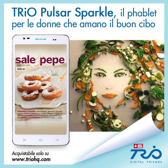 Telefono trio pulsar sparkle