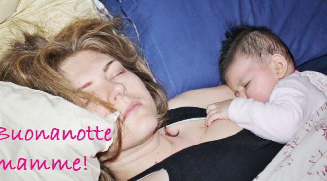 mamma che dorme