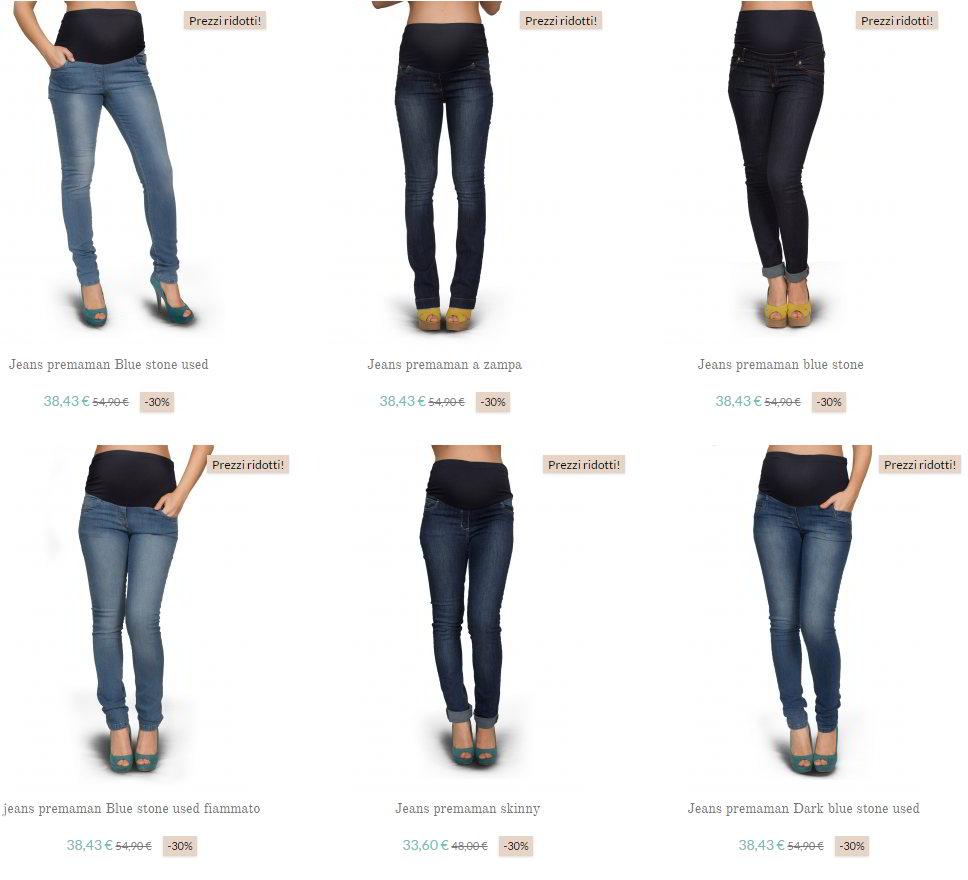 9d32a31218b0 Dove prendere premaman anche XXL a ottimi prezzi  dai jeans all ...