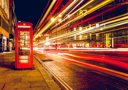 cabina telefonica inglese