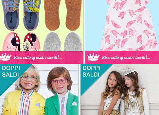 sito vestiti per bambini