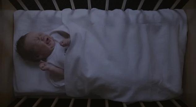 neonato che non dorme