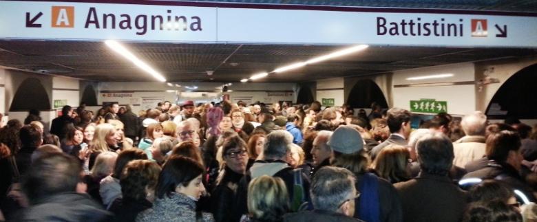 sciopero metro roma