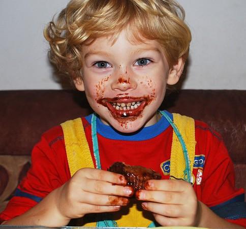 bambini e dolcibambini e dolci