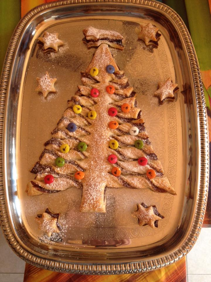dolce a forma di albero di natale