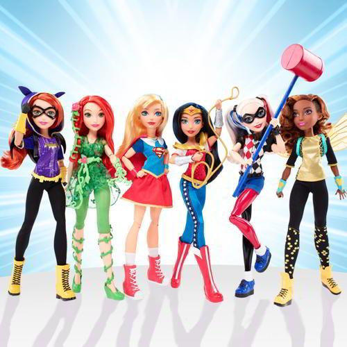 bambole supereroi