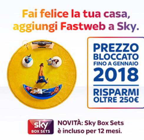 sky fastweb homepack