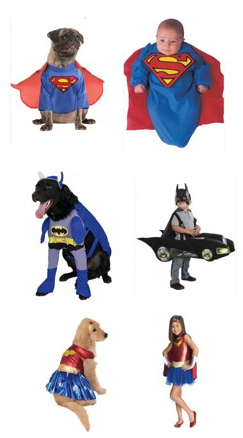 costumi supereroe cani neonati