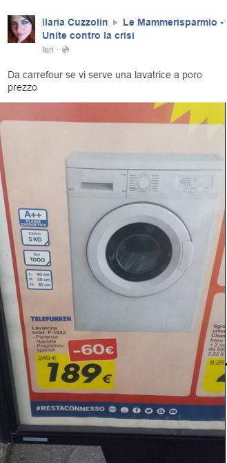 lavatrice a poco prezzo
