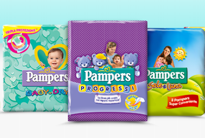 PANNOLINI PAMPERS OPINIONI, DIFFERENZE TRA PROGRESSI, SOLE E LUNA E BABY DRY