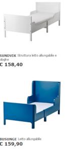 Lettino ikea allungabile e materasso per bambini ikea for Ikea lettini bimbi